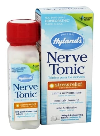 Hylands - Nerve Tonic Stress Relief - 100 Tablets