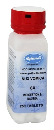 Hylands - Nux Vomica 6 X - 250 Tablets