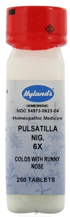 DROPPED: Hylands - Pulsatilla 6 X - 250 Tablets CLEARANCED PRICED