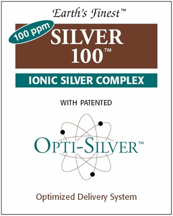 DROPPED: Invision International Health Solutions - Silver 100 Ionic Silver Complex- Dropper - 0.05 oz.