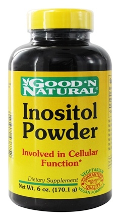 DROPPED: Good 'N Natural - Inositol Powder - 6 oz.