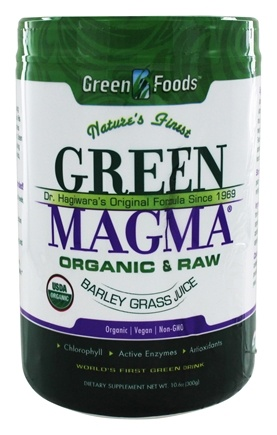 Green Foods - Green Magma USA Organic - 11 oz.
