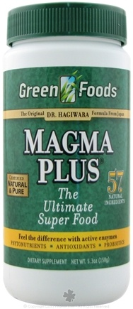 DROPPED: Green Foods - Magma Plus - 5.3 oz. CLEARANCE PRICED
