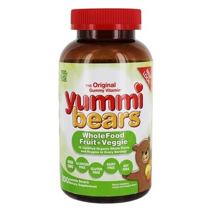 Hero Nutritional Products - Yummi Bears Wholefood Supplement Value Pack - 200 Gummies