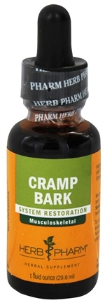 Herb Pharm - Cramp Bark Extract - 1 oz.