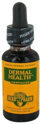 DROPPED: Herb Pharm - Dermal Health Compound - 1 oz. CLEARANCE PRICED