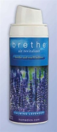 DROPPED: HoMedics - Brethe Air Revitalizer Refill Calming Lavender - 8 oz.