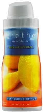 DROPPED: HoMedics - Brethe Air Revitalizer Refill Refreshing Citrus BRT-S120 - 8 oz.