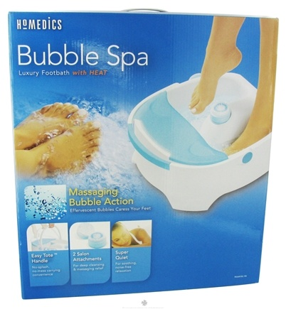 DROPPED: HoMedics - Bubble Spa Luxury Footbath BL-150 - HOLIDAY PRICED
