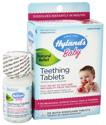 Buy Hylands - Teething Tablets - 135 Tablets at ...