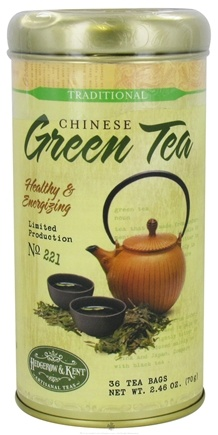 DROPPED: Hedgerow & Kent - Chinese Green Tea - 36 Tea Bags Formerly called Good 'N Natural, Herbal Authority