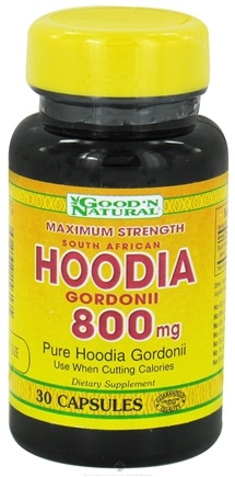DROPPED: Good 'N Natural - Hoodia Gordonii Extra Strength 800 mg. - 30 Capsules
