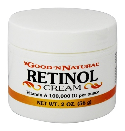 DROPPED: Good 'N Natural - Retinol Cream Vitamin A 100000 IU - 2 oz.