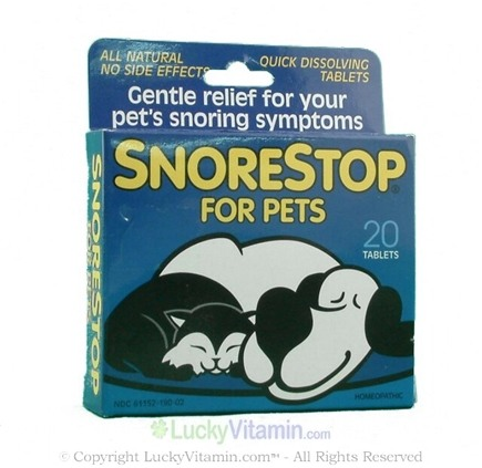 DROPPED: Green Pharmaceuticals - SnoreStop for Pets - 20 Tablets