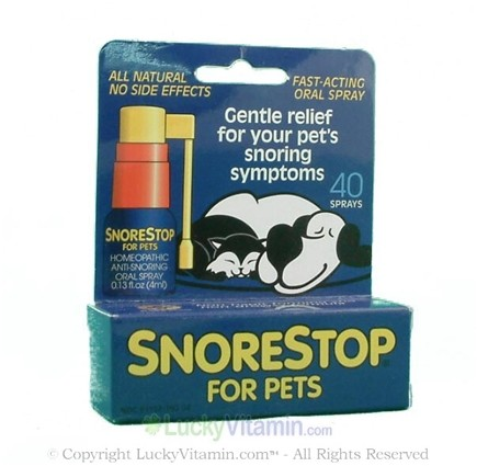 DROPPED: Green Pharmaceuticals - SnoreStop for Pets - 40 Spray(s)
