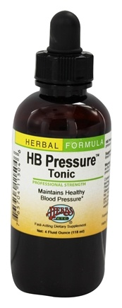Herbs Etc - HB Pressure Tonic Professional Strength - 4 oz.