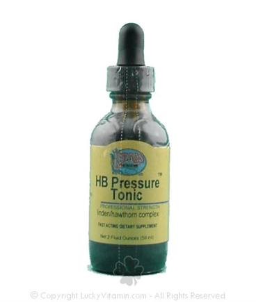 DROPPED: Herbs Etc - HB Pressure Tonic - 2 oz.