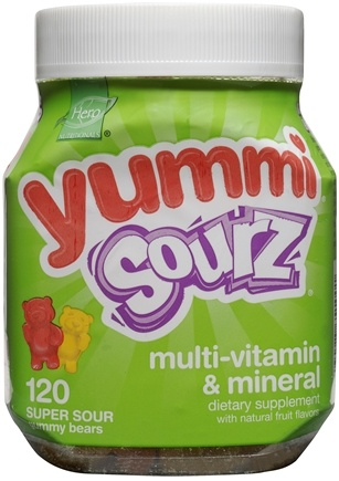 DROPPED: Hero Nutritional Products - Yummi Sourz