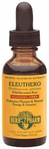 DROPPED: Herb Pharm - Eleuthero Glycerite - 1 oz. CLEARANCE PRICED