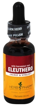Herb Pharm - Eleuthero  Extract - 1 oz. Formerly Siberian Ginseng