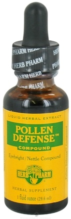 DROPPED: Herb Pharm - Pollen Defense Compound - 1 oz. Formerly Eyebright Nettle CLEARANCE PRICED