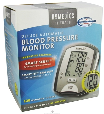 DROPPED: HoMedics - Deluxe Automatic Blood Pressure Monitor BPA-101 - CLEARANCE PRICED