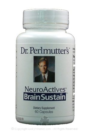 DROPPED: Dr. Perlmutter's iNutritionals (Xymogen) - BrainSustain Neuro Actives - 60 Capsules CLEARANCE PRICED