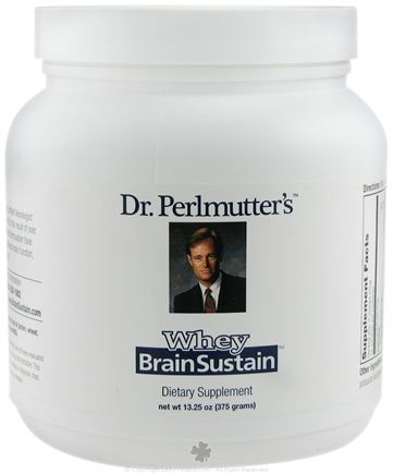 DROPPED: Dr. Perlmutter's iNutritionals (Xymogen) - Brain Sustain Original Whey - 375 Grams
