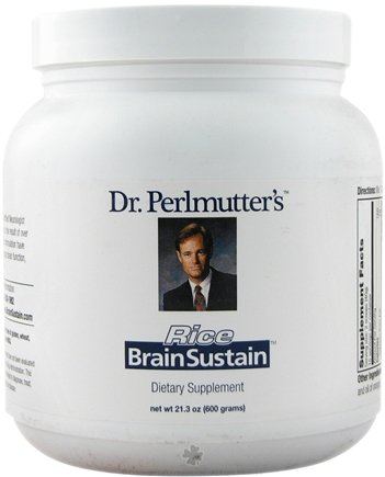 DROPPED: Dr. Perlmutter's iNutritionals (Xymogen) - Brain Sustain Rice Formula - 600 Grams