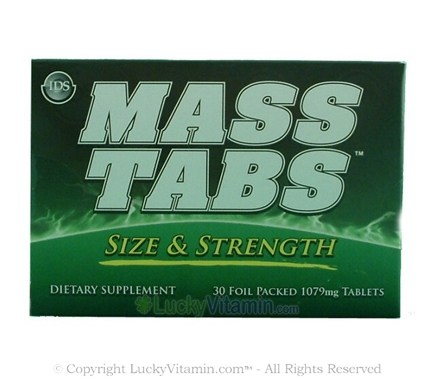 DROPPED: New Whey - Mass Tabs - 30 Tablets