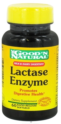 DROPPED: Good 'N Natural - Lactase Enzyme - 60 Softgels