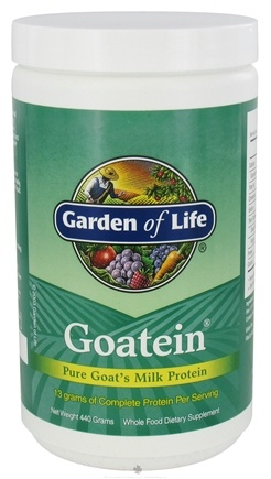 Garden of Life - Goatein Pure Goat's Milk Protein Powder - 454 Grams