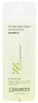 Giovanni - Shampoo Invigorating Tea Tree Triple Treat - 8.5 oz.