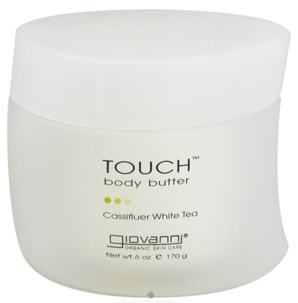 DROPPED: Giovanni - Touch Body Butter Cassifluer White Tea - 6 oz.