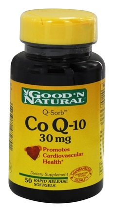Good 'N Natural - CoQ-10 30 mg. - 50 Softgels
