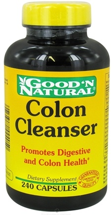 Good 'N Natural - Colon Cleanser - 240 Capsules