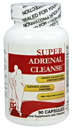 Health Plus - Super Adrenal Cleanse - 90 Capsules