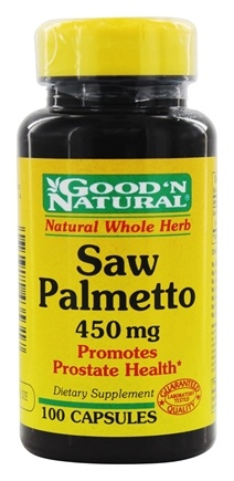 DROPPED: Good 'N Natural - Saw Palmetto 450 mg. - 100 Capsules