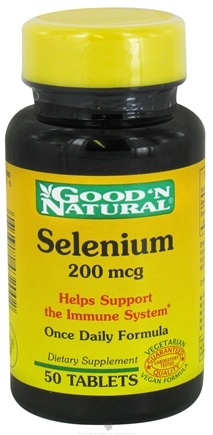 Good 'N Natural - Selenium 200 mcg. - 50 Tablets