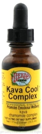 DROPPED: Herbs Etc - Kava Cool Complex - 1 oz.