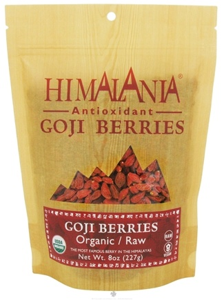 DROPPED: Himalania - Organic Raw Goji Berries - 8 oz.