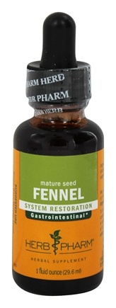 DROPPED: Herb Pharm - Fennel Extract - 1 oz.