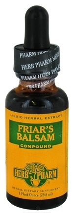 DROPPED: Herb Pharm - Friar's Balsam Compound - 1 oz. CLEARANCE PRICED