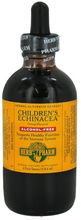 DROPPED: Herb Pharm - Children's Echinacea Glycerite - 4 oz. CLEARANCE PRICED