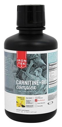 DROPPED: Iron Tek - Essential Liquid Carnitine 1000 Natural Vanilla - 16 oz. CLEARANCED PRICED