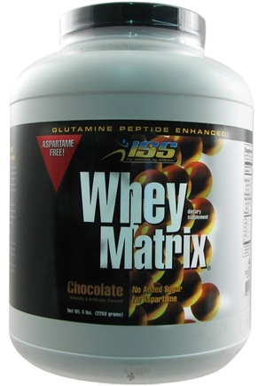 DROPPED: ISS Research - Whey Matrix Chocolate - 5 lbs.