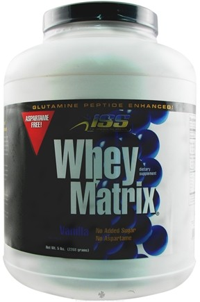 DROPPED: ISS Research - Whey Matrix Vanilla - 5 lbs.