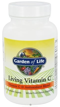 Garden of Life - Living Vitamin C - 60 Caplets