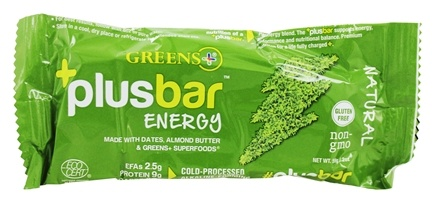 Greens Plus - Energy Bar Natural Flavor Natural Flavor - 2 oz.