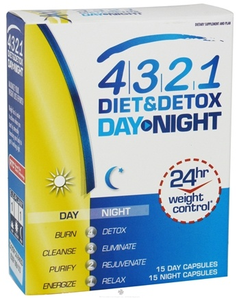 DROPPED: Health From The Sun - 4.3.2.1 Diet & Detox Day-Night - 30 Serving(s) CLEARANCE PRICED